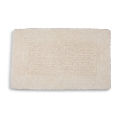 Lankford Extra Plush Bath Rug Size: 21 W x 34 L, Color: Ivory Tusk