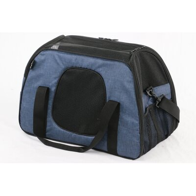 Carry Me Sleeper� Pet Carrier Color: Heather Navy