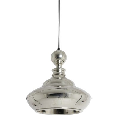 Mirella Mirella Round 1-Light Inverted Pendant