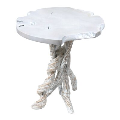 Lohr End Table Color: White