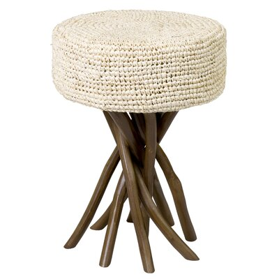 Loiselle End Table Color: Cream