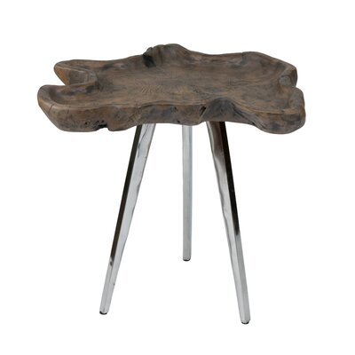 Lokey End Table Size: Large