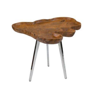 Lokey End Table Size: Large