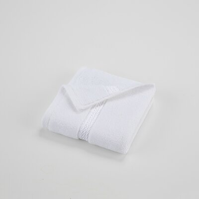 Suites Washcloth Color: Optical White