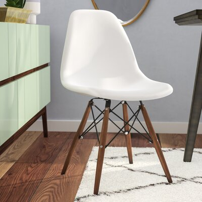 Harrison Solid Wood Dining Chair Finish: White