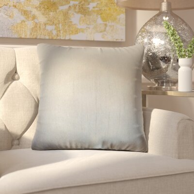 Lindner Solid Throw Pillow Color: Gray