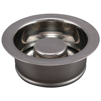 Garbage Disposal Stopper/Flange Finish: Polished Chrome