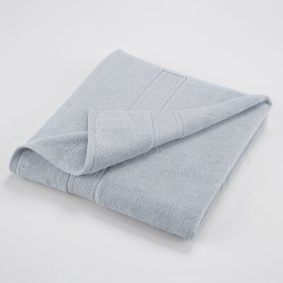 Bath Towel Color: Blue Cloud