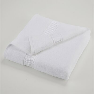 Bath Towel Color: Optical White