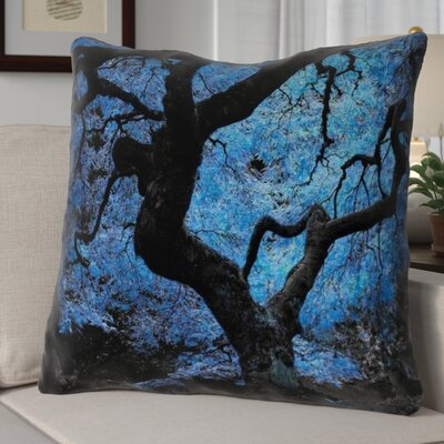Ghost Train Japanese Maple Tree Euro Pillow
