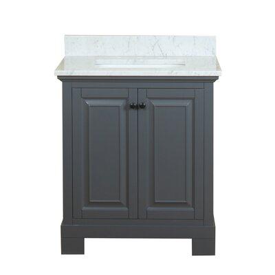 Cothern 30 Single Bathroom Vanity Set Base Finish: Gray