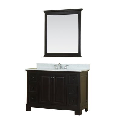 Cothern 48 Single Bathroom Vanity Set Base Finish: Espresso