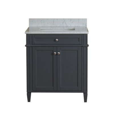 Costillo 30 Single Bathroom Vanity Set Base Finish: Gray