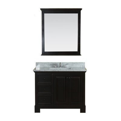 Cothern 42 Single Bathroom Vanity Set Base Finish: Espresso