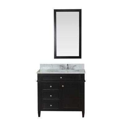 Costillo 36 Single Bathroom Vanity Set Base Finish: Espresso