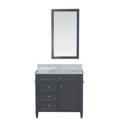 Costillo 36 Single Bathroom Vanity Set Base Finish: Gray