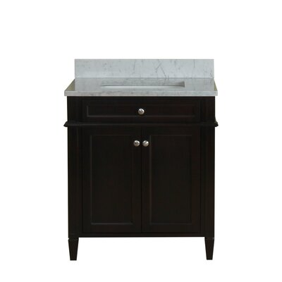 Costillo 30 Single Bathroom Vanity Set Base Finish: Espresso