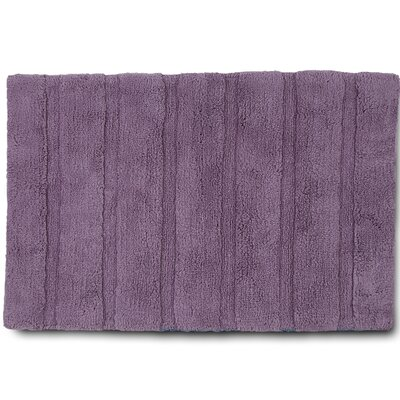 Abundance Bath Rug Color: Plum, Size: 20 W x 30 L