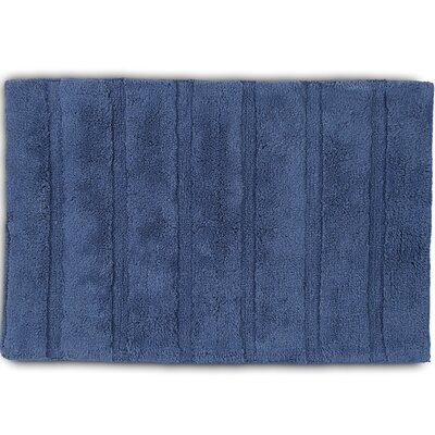Abundance Bath Rug Color: Bluemoon, Size: 20 W x 30 L