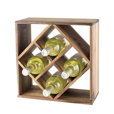 Lattice 8 Bottle Table Top Wine Rack