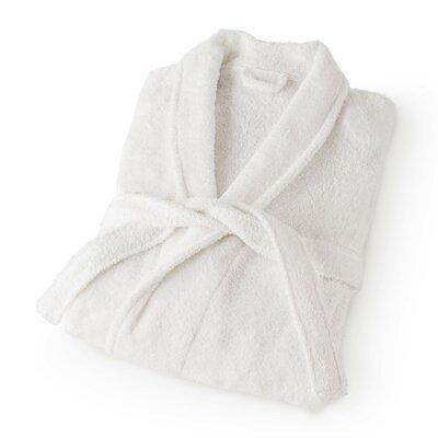 Dress Terry Bathrobe Size: Medium, Color: White