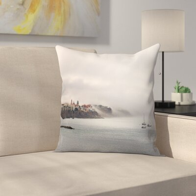 Maja Hrnjak Cascais Throw Pillow Size: 16 x 16