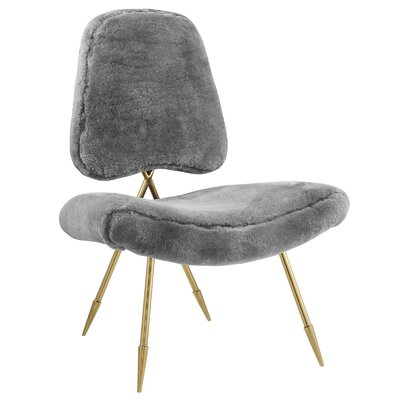 Haller Side Chair Upholstery: Gray