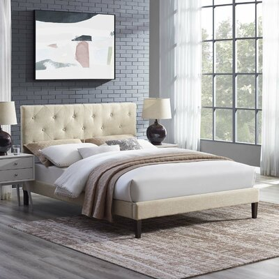 Mazzarelli Upholstered Platform Bed Size: Full/Double