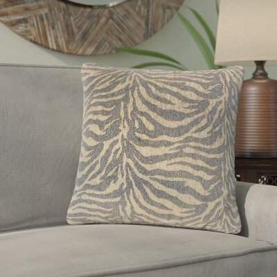 Port Laguerre Animal Print Throw Pillow Color: Black