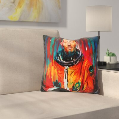 Thom Yorke Throw Pillow