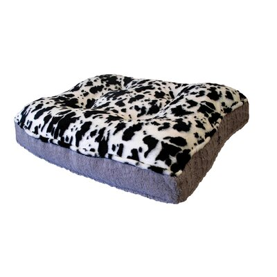 Sicilian Rectangle Spotted Pony Bed Pad Size: 56 W x 41 D x 6 H
