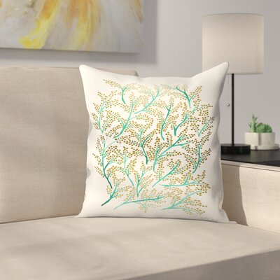 Cat Coquillette Branches Throw Pillow Size: 16 x 16