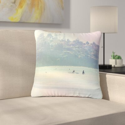 Sylvia Coomes Rainbow 3 Outdoor Throw Pillow Size: 16 H x 16 W x 5 D