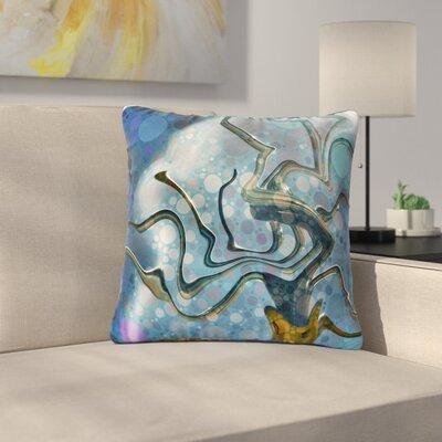 AlyZen Moonshadow Wonky Outdoor Throw Pillow Size: 18 H x 18 W x 5 D