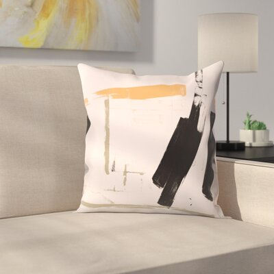 Kasi Minami Untitled 20 Throw Pillow Size: 16 x 16