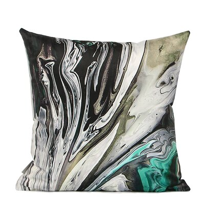 Denebola Abstract Oil Painting Digital Printing Pillow Cover Fill Material: Down/Feather
