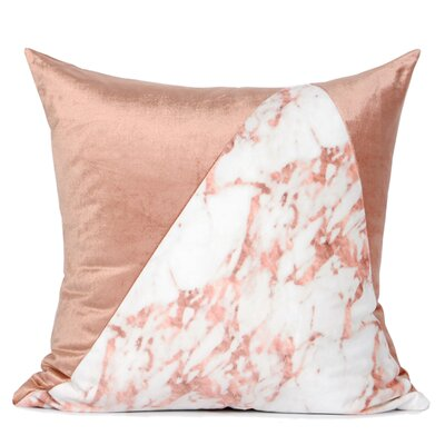Denn Two Color Pillow Cover Fill Material: Polyester/Polyfill