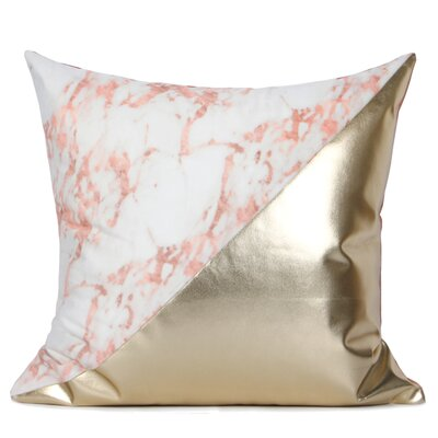 Dennard Two Color Pillow Cover Fill Material: Down/Feather