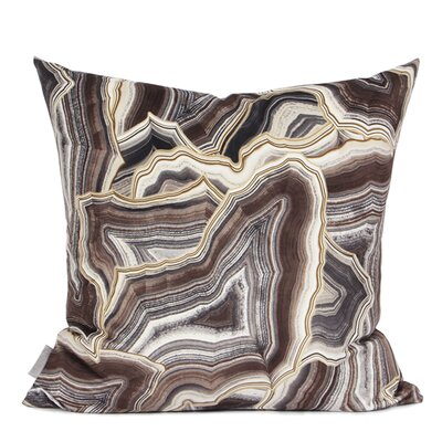 Hartman Digital Printing Pillow Fill Material: Down/Feather, Color: Brown