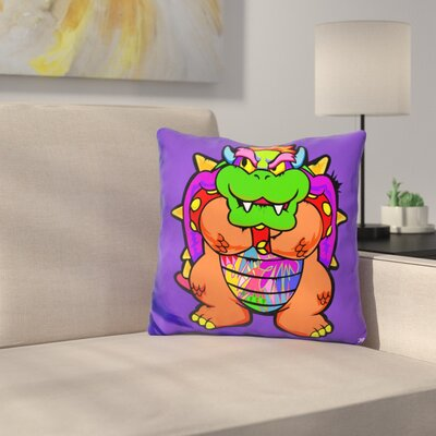 Bowser Throw Pillow
