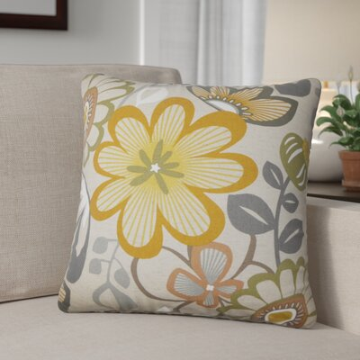 Cami Floral Cotton Throw Pillow