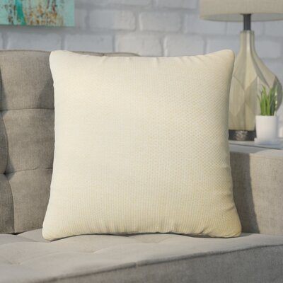 Chapple Solid Throw Pillow Color: Jonquil