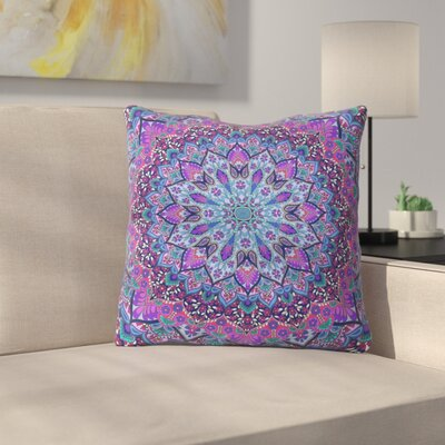 Throw Pillow Size: 16 H x 16 W x 4 D, Color: Pink