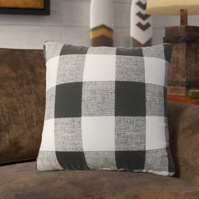 Tovey Plaid Cotton Throw Pillow