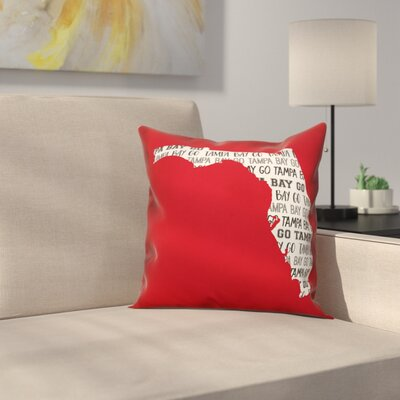 Tampa Bay Go Team Throw Pillow