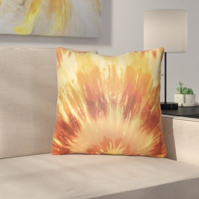 Calila Square Throw Pillow Size: 22 H x 22 W x 5 D, Color: Orange