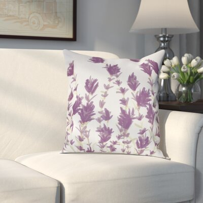 Orchard Lane Lavender Throw Pillow Size: 20 H x 20 W, Color: Purple
