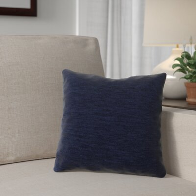 Danin Outdoor Throw Pillow Color: Navy, Size: Large