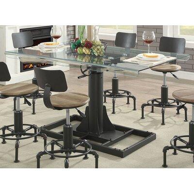Gowan Industrial Glass Pub Table