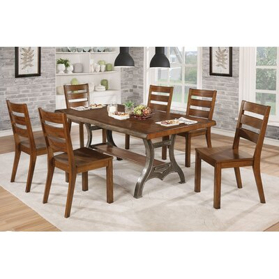 Govea Industrial 8 Piece Dining Set